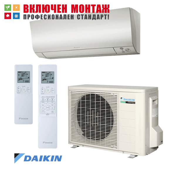 Хиперинверторен климатик Daikin FTXM25M / RXM25M, 9000 BTU, клас А+++