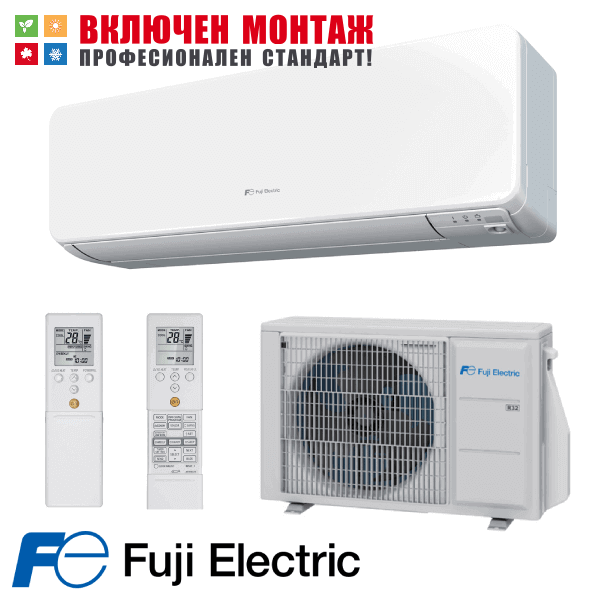 Хиперинверторен климатик Fuji Electric RSG07KGTA / ROG07KGCA, 7000 BTU, клас A+++
