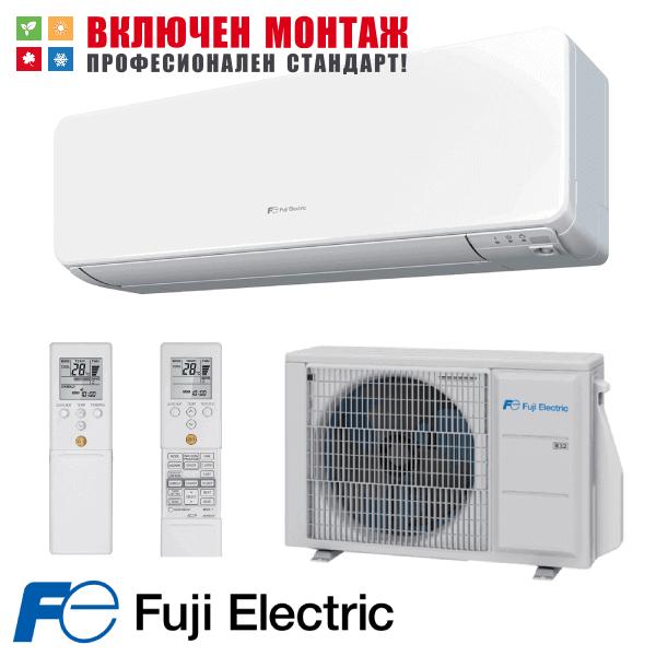 Хиперинверторен климатик Fuji Electric RSG09KGTA / ROG09KGCA, 9000 BTU, клас A+++