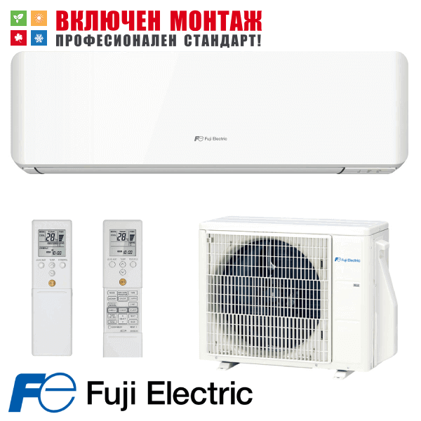 Инверторен климатик Fuji Electric RSG07KMCC / ROG07KMCC, 7000 BTU, клас A++