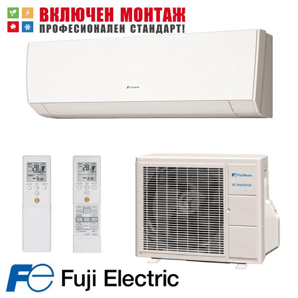 Инверторен климатик Fuji Electric RSG09LMCA / ROG09LMCA, 9000 BTU, клас A++