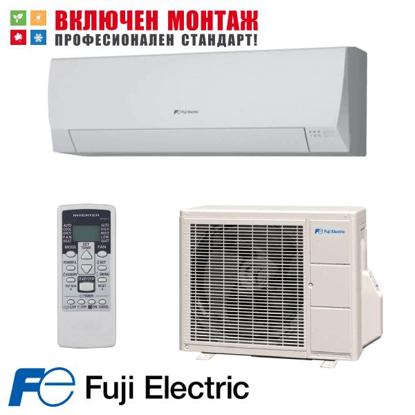 Инверторен климатик Fuji Electric RSG12LLCC / ROG12LLCC, 12000 BTU, клас A++