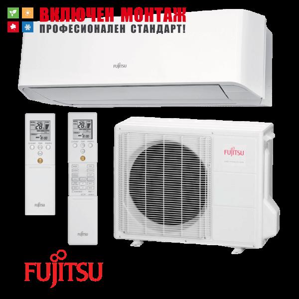 Инверторен климатик Fujitsu ASYG12LMCE / AOYG12LMCE, 12000 BTU, клас A++