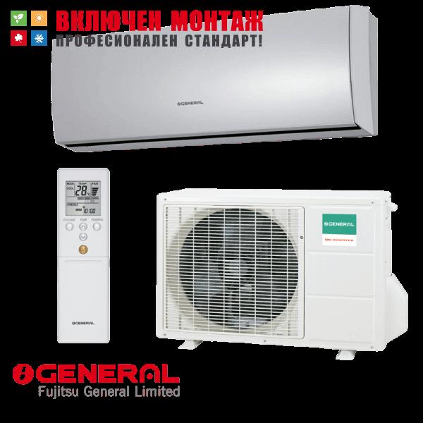 Хиперинверторен климатик Fujitsu General ASHG09LTCА / AOHG09LTC, 9000 BTU, клас A+++