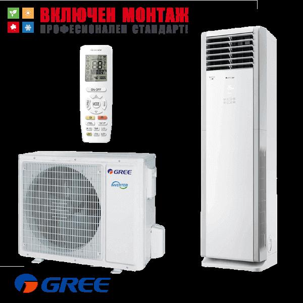 Колонен климатик Gree GVH24AL-K3DNC7A LC WiFi, 24000 BTU, клас А++