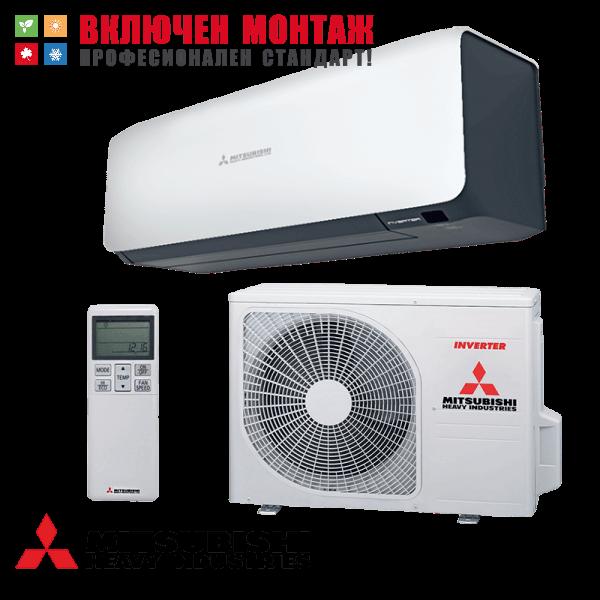 Инверторен климатик Mitsubishi Heavy Industries Premium SRK25ZS-WB / SRC25ZS-W, 9000 BTU, клас A+++