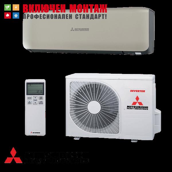 Инверторен климатик Mitsubishi Heavy Industries Premium SRK25ZS-WT / SRC25ZS-W, 9000 BTU, клас A+++