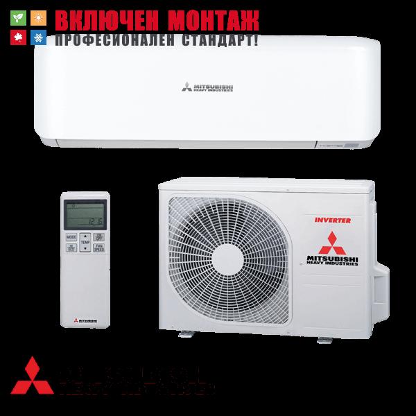 Инверторен климатик Mitsubishi Heavy Industries Premium SRK35ZS / SRC35ZS-W, 12000 BTU, клас A++