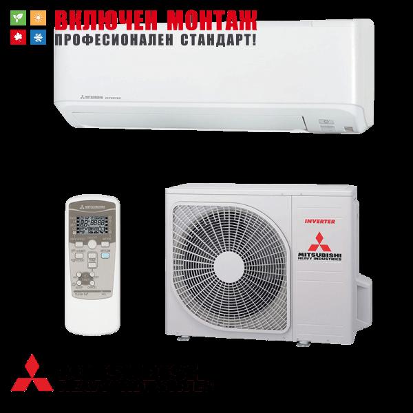 Инверторен климатик Mitsubishi Heavy Industries Standard SRK25ZMP-S / SRC25ZMP-S, 9000 BTU, клас A