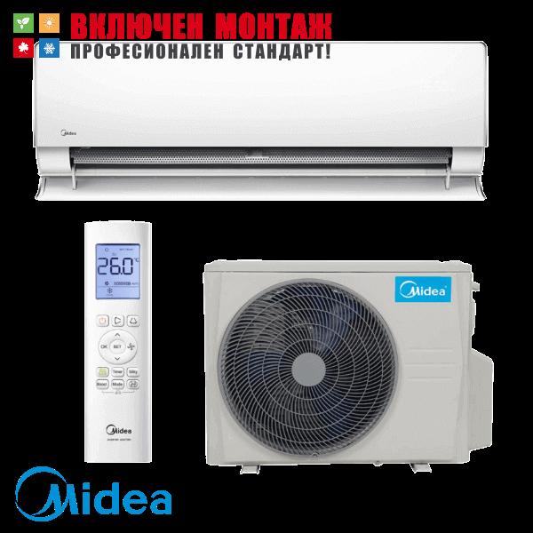 Хиперинверторен климатик Midea MT-12N8D6 / MBT-12N8D6 Ultimate Comfort, 12000 BTU, клас А+++