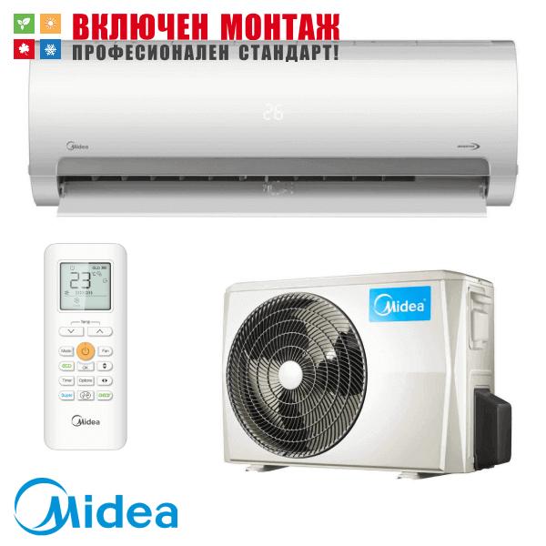 Инверторен климатик Midea MA2-12NXD0 / MA-12N8D0 Prime, 12000 BTU, клас А++