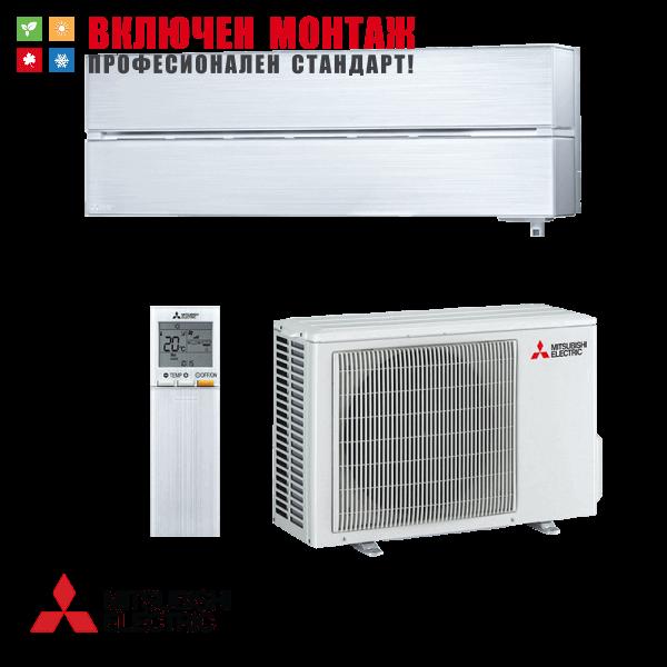 Хиперинверторен климатик Mitsubishi Electric MSZ-LN35VGV / MUZ-LN35VG, 12000 BTU, клас A+++