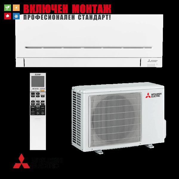 Инверторен климатик Mitsubishi Electric MSZ-AP35VG / MUZ-AP35VG, 12000 BTU, клас A+++
