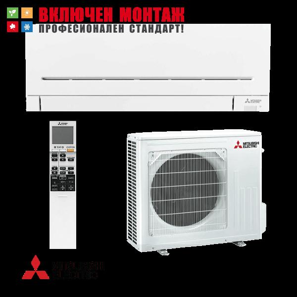 Инверторен климатик Mitsubishi Electric MSZ-AP50VGK / MUZ-AP50VG + WiFi, 18000 BTU, клас A++