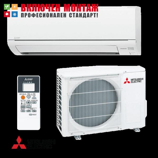Инверторен климатик Mitsubishi Electric MSZ-DM35VA / MUZ-DM35VA, 12000 BTU, клас A+
