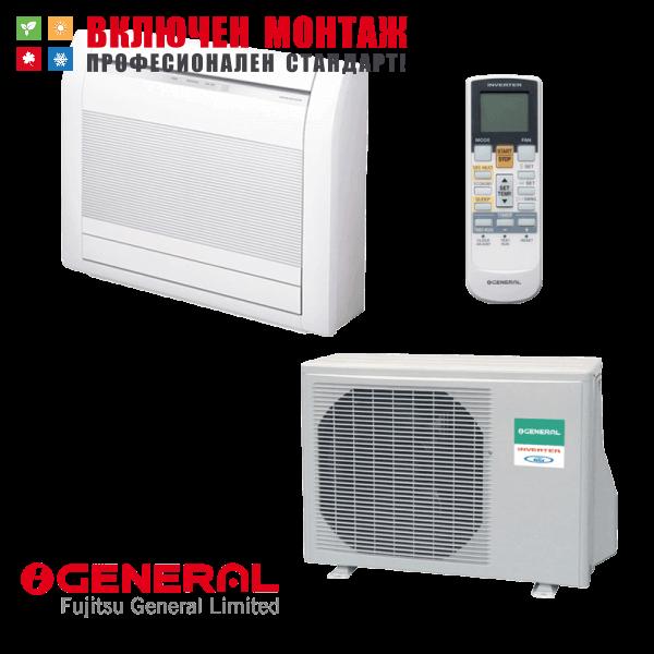Подов климатик Fujitsu General AGHG09LVCA / AOHG09LVCA, 9000 BTU, клас А++