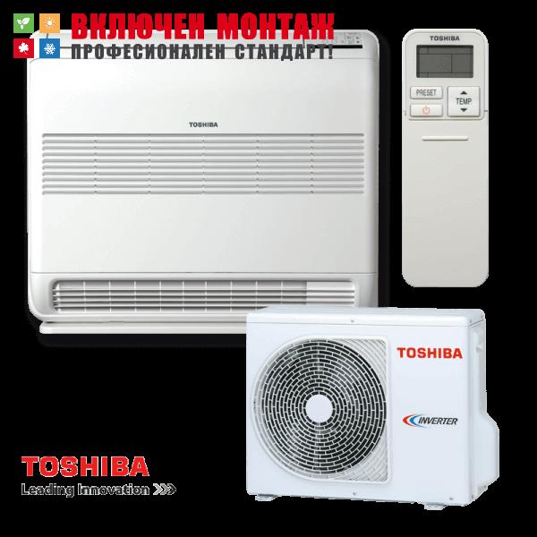 Подов климатик Toshiba Bi-flow RAS-B13UFV-E / RAS-13N3AV2-E, 13000 BTU, клас А++