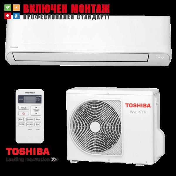 Инверторен климатик Toshiba Seiya RAS-24J2KVG-E / RAS-24J2AVG-E, 24000BTU, клас A++