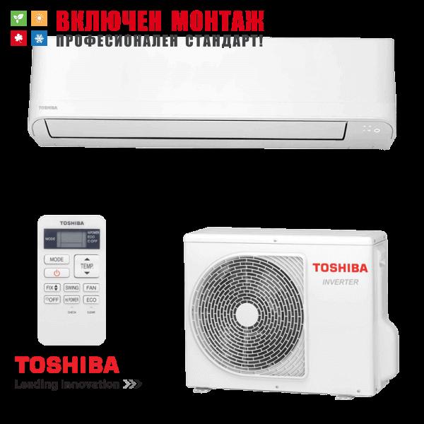 Инверторен климатик Toshiba Seiya RAS-B10J2KVG-E / RAS-10J2AVG-E, 10000 BTU, клас A++