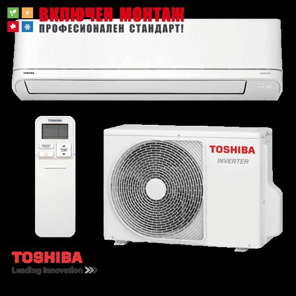 Инверторен климатик Toshiba Shorai RAS-13PKVSG-E / RAS-13PAVSG-E, 13000 BTU, клас A++